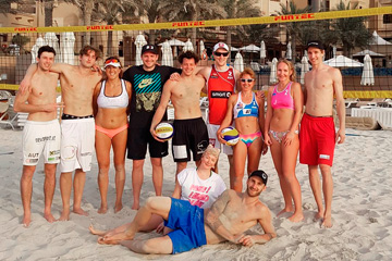 Blog / Pro+Am (Professional plus Amateur) Beach Volleyball Camp in UAE 2018