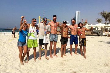 Blog / 1st UAE PRO+AM Beach Volleyball Tournament
