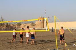 Weekend intensive volleyball training, Oman