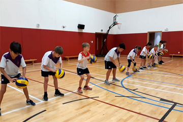 Kids Volleyball Academy / Kent College, Dubai