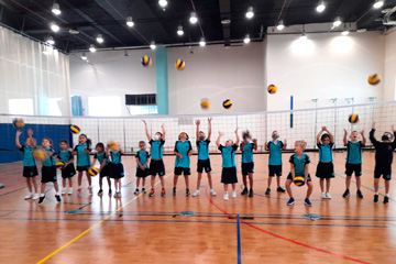 Kids Volleyball Academy / Nord Anglia School, Dubai