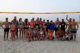 2nd Professional & Amateur Beach Volleyball Tournament, Ramadan Edition, 1 Jun 2018