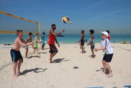 Volleyball training for kids, Dubai