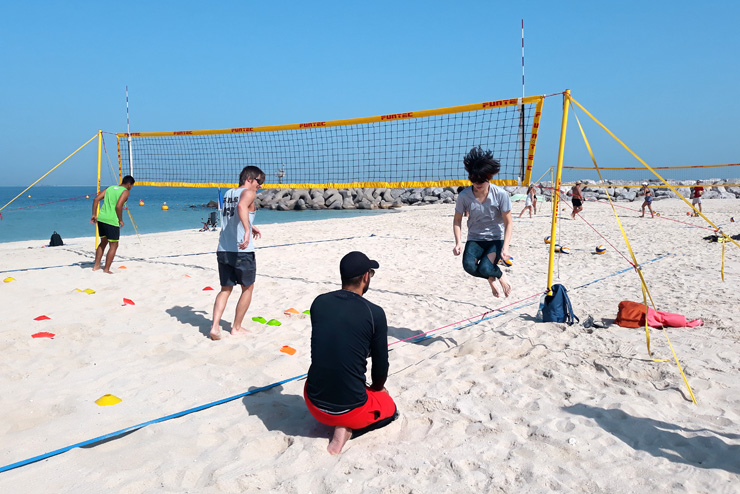 Volleyball Fitness Trainings